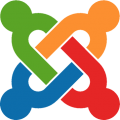 Joomla Symbol Color FLAT
